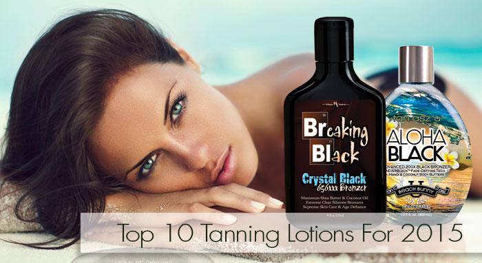 Top 10 Tanning Lotions 2015