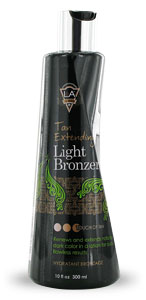 LA Tan Light Tanning Bronzer From Lotion Source