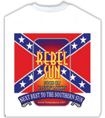 High Quality Cotton Rebel Flag T-Shirts From Lotion Source