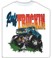 Monter Truck T-Shirts From Lotion Source