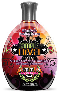 Tan Asz U CAMPUS DIVA 50x Bronzers Tanning Lotion From Lotion Source