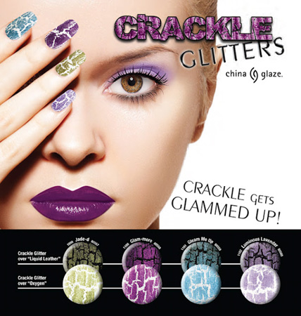 China Glaze Crackle Colors Nail Polish From Lotion Source