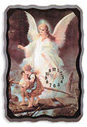Angel Clock From Lotion Source
