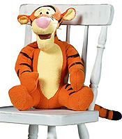 Disney's Plush Tigger From Lotion Source