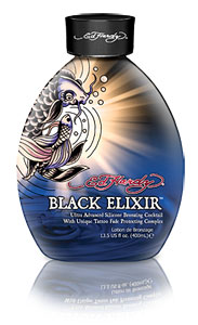 Ed Hardy Black Elixir Bronzing Cocktail Tanning Lotion