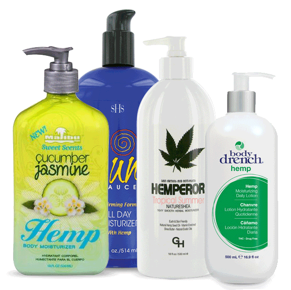 Hemp All-Stars Gift Bags From Lotion Source