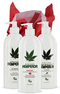 Hemperor Trio Lotion & Beauty Gift Baskets From Lotion Source