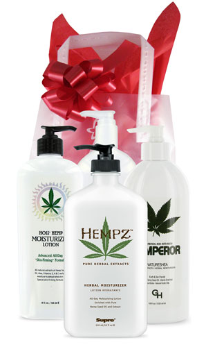 Hemp Extreme Gift Bags From Lotion Source