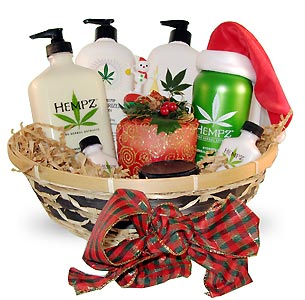 Tanner's Best Holiday Gift Basket From Lotion Source
