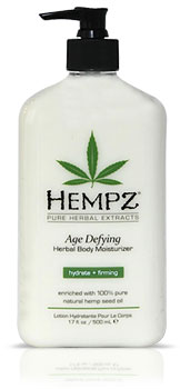 Hempz Age Defying Herbal Moisturizer From Lotion Source