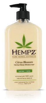 Hempz Citrus Blossom Moisturizer Lotion From Lotion Source