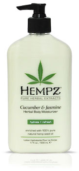 Hempz Cucumber & Jasmine Herbal Moisturizer From Lotion Source