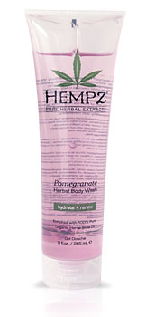 Hempz Pomegranate Body Wash & Body Scrub From Lotion Source
