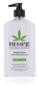 Hempz Vanilla Plum Moisturizer Lotion From Lotion Source