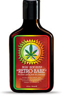 Hoss' Hemp Retro Babe Tanning Lotion From Lotion Source