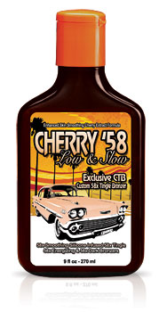 Cherry 58 Custom Tingle Bronzer Tanning Lotion From Lotion Source