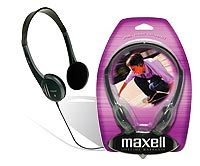 Salon Supplies - Maxell Lightweight Headphones from Lotion Source