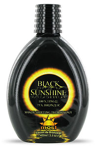 Most Black Sunshine From Lotion Source