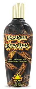 Most Bronze Invasion Tanning Lotion From Lotion Source