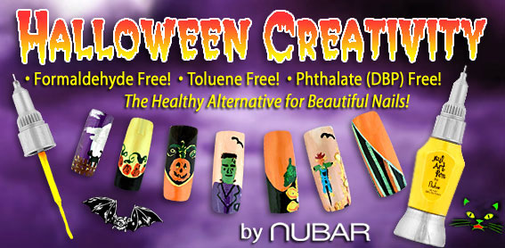 Nubar Nail Art Pens From Lotion Source Nail Lacquers Free Of