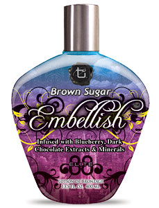 Brown Sugar Embellish Bronzer Tanning Lotion From Lotion Source