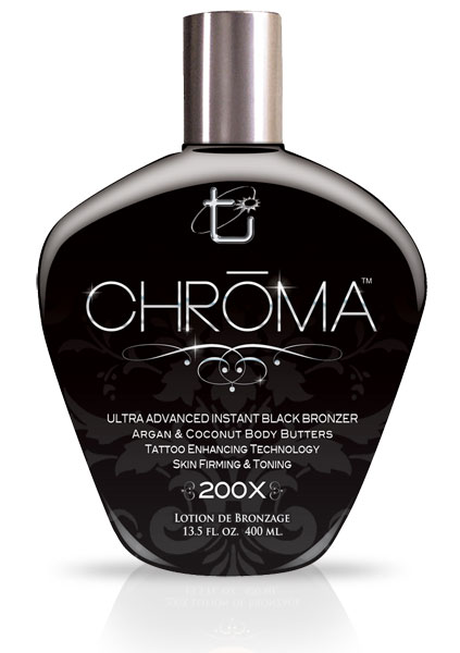 Tan Inc Chroma 200x New For 2015 Rich Dark Bronzer Will