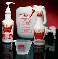 Lucasol One Step Disinfectant and Accessories From Lotion Source