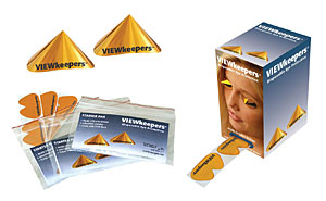 Viewkeepers Disposable Tanning Eye Protection - View Keepers Eye Wear From Lotion Source