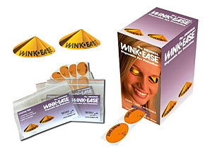 Winkease Disposable Tanning Eye Protection - View Keepers Eye Wear From Lotion Source