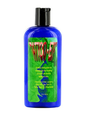 Tattoo eze healing tattoo care lotion only from for Tattoo tanning lotion